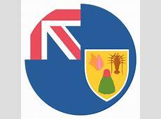 Turks & Caicos Islands Flag Vector Emoji Icon Free