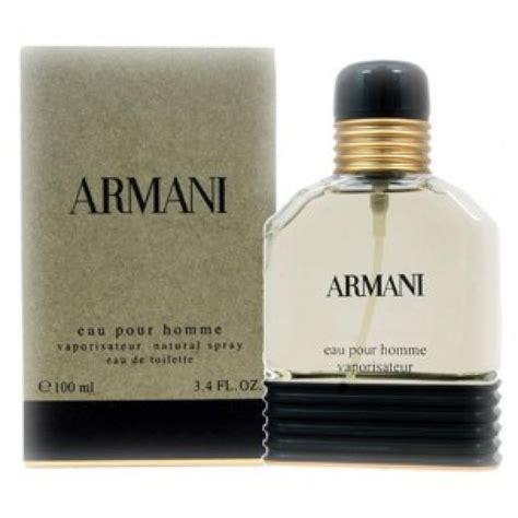 armani eau de toilette homme armani eau pour homme for 100 ml eau de toilette by giorgio armani