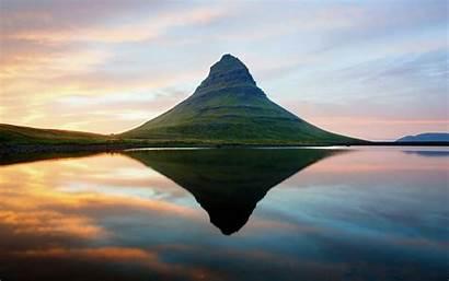 Water Reflection Mountain Lake