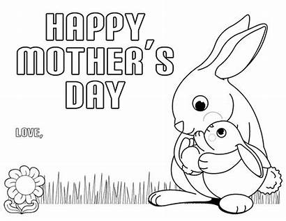 Mother Coloring Pages Happy Printable Mothersday Everfreecoloring
