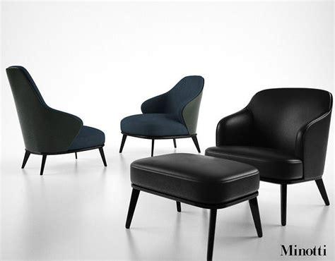 Minotti Leslie Armchair 3d Model
