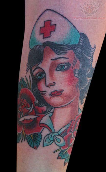 traditional nurse tattoo