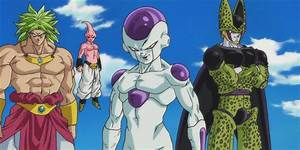 Mystic Gohan vs Frieza, SP Cell, Kid Buu and Broly ...