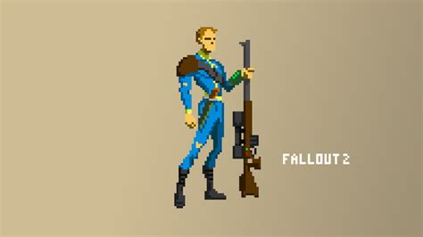 Pixel 2 Animated Wallpaper - fallout 2 pixel wallpaper by pansejra on deviantart