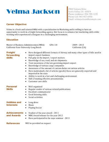 student resume examples high school  college