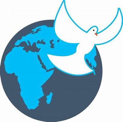 Globe Clip Dove Peace Domain International