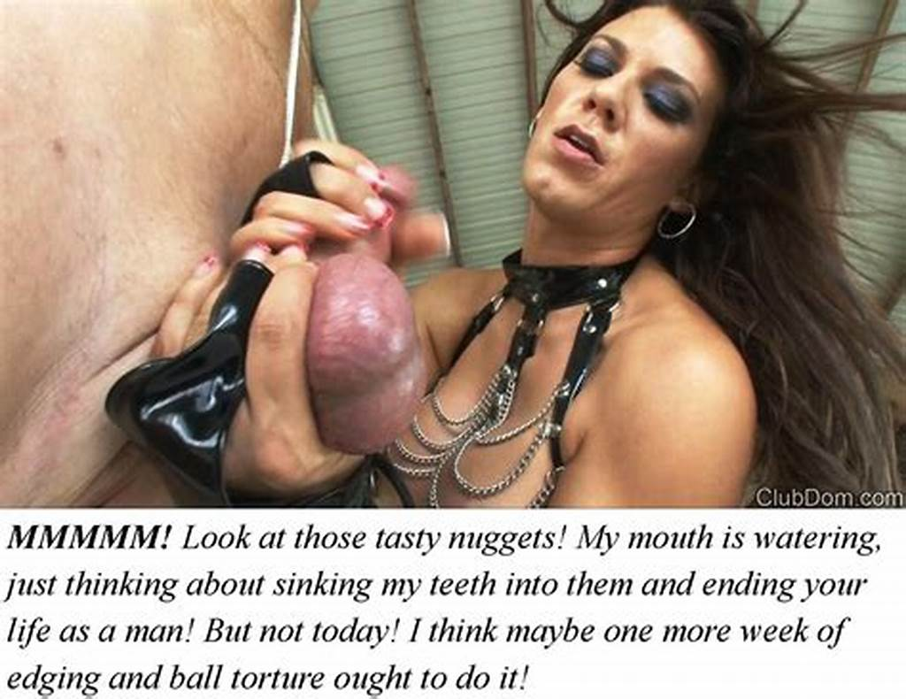 #Cuckold #Captions #202 #Wife #Makes #Hubby #A #Eunuch