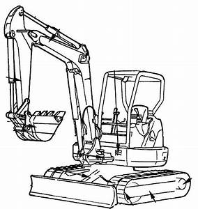 Hitachi Ex27u  Ex35u Excavators Repair Service Manual