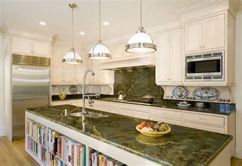 green granite countertops kitchen peacock green granite with white cabinets saura v dutt 3990