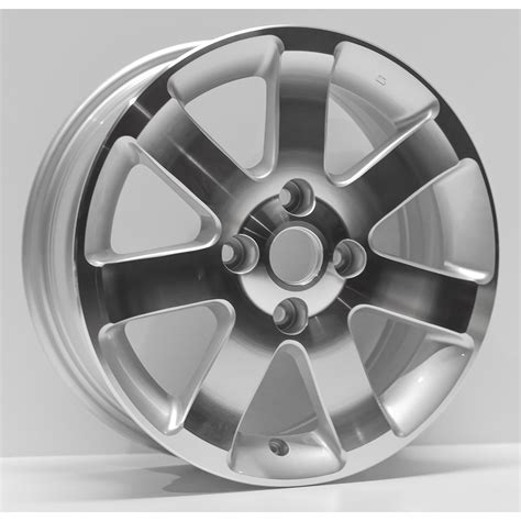 rims for nissan sentra 2012 16 quot machined w silver vents rim by jte wheels for 2007