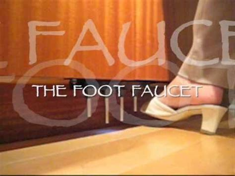 Foot Faucet, hands free foot pedal for the kitchen sink