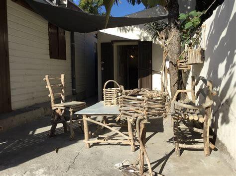 salon de jardin bois flotte salon de jardin en bois flott 233 cr 233 ation en bois flott 233