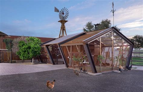hog wire baroque chicken coop kit in garage and shed contemporary