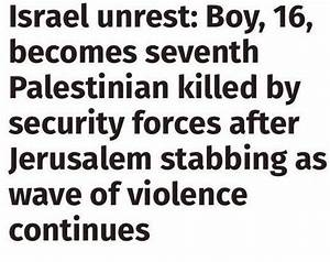 Send us examples of bad headlines on Israel in the British ...
