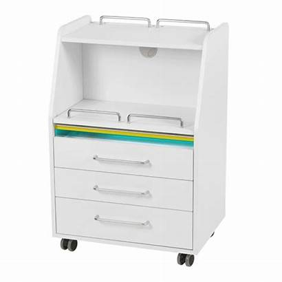 Spin Sterilizer Drawers Removable Equipped Trolley Tray