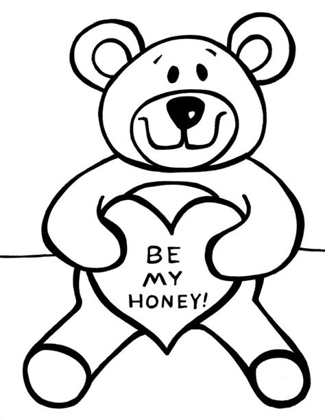 Images Of Coloring Pages Free Printable Teddy Coloring Pages For
