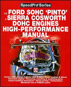 Ford Sohc Pinto Engines Book Performance Manual Sierra