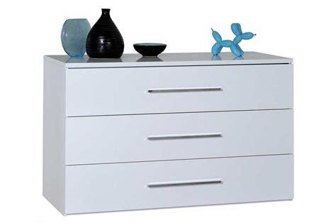 meuble tiroir chambre commode laque blanc ou noir 3 tiroirs trendymobilier com