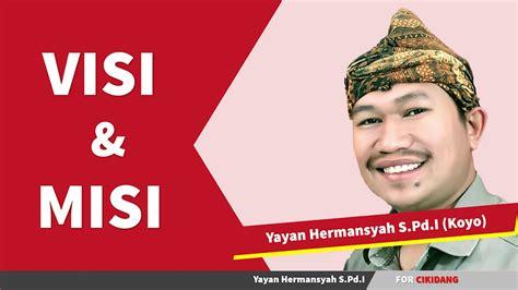 VISI DAN MISI Balon Kepala Desa Cikidang 2019-2025 - YouTube