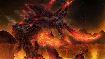 Demon Fire Wallpapers Wolf Demonic Fantasy Starcraft