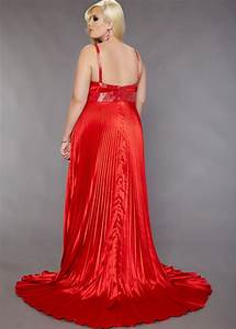 plus size floor length red wedding dress chiffon sang With red wedding dresses plus size