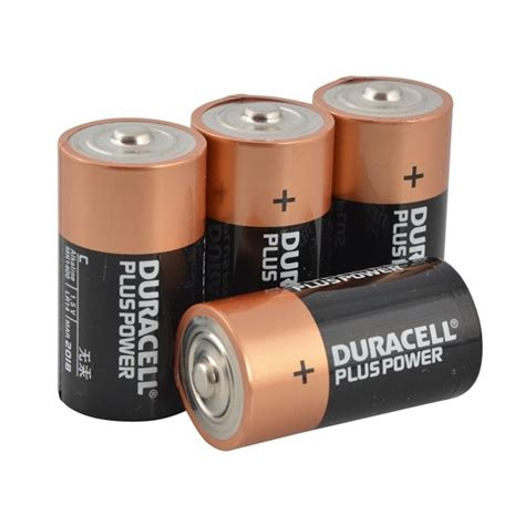 C Batterijen Per 4 Duracell