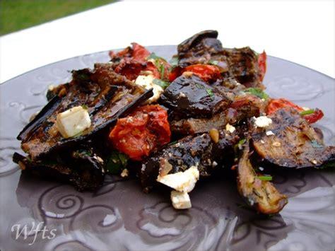 cuisiner aubergine a la poele salade d aubergines et tomates confites waiting for the sun
