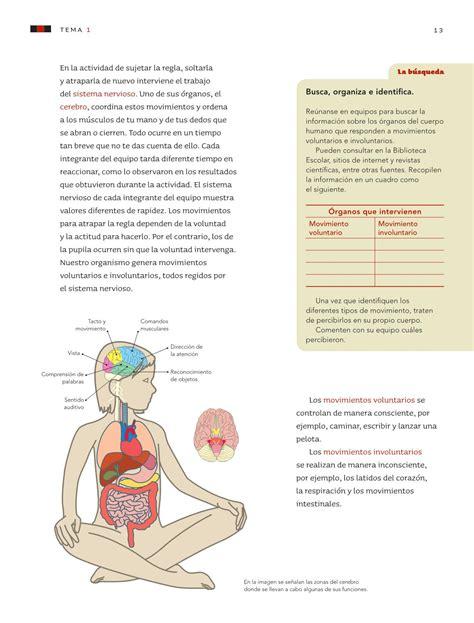 Cuestionario sexto grado ciencias naturales bloque i cmo mantener la salud? Ciencias Naturales Sexto grado 2016-2017 - Online - Página 13 de 176 - Libros de Texto Online