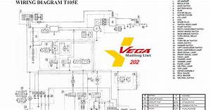 Skema Kelistrikan Motor  Skema Kelistrikan Vega