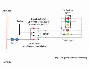 Navigation Light Circuit Diagram