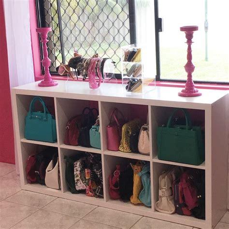 ikea hack handbag storage bedroom storage diy bedroom
