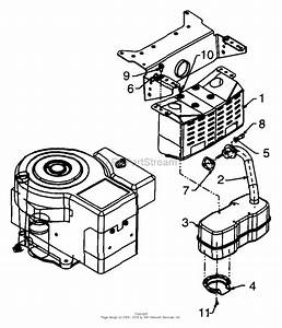 Mtd 13ah660f022  1999  Parts Diagram For Engine