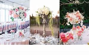Deco Centre De Table Mariage : d coration mariage 10 centres de table hauts ~ Teatrodelosmanantiales.com Idées de Décoration