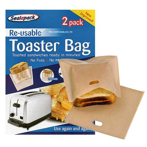 bags toaster toast bag toastie reusable foil toastabags cooking bread roasting liner cooker oven snack slow egg sheet