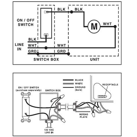 broan bathroom fan installation instructions broan fan light parts wiring diagrams repair wiring scheme