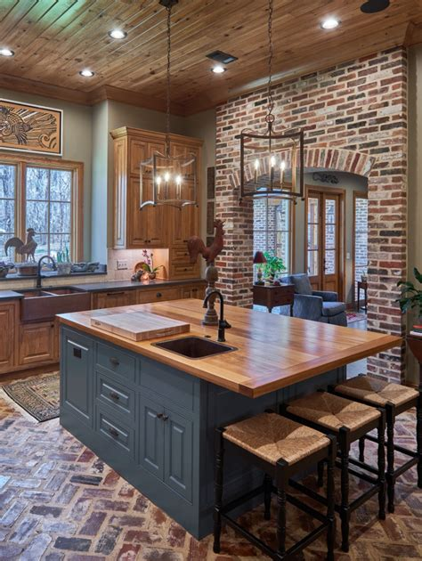 stonebridge residence farmhouse kitchen jackson