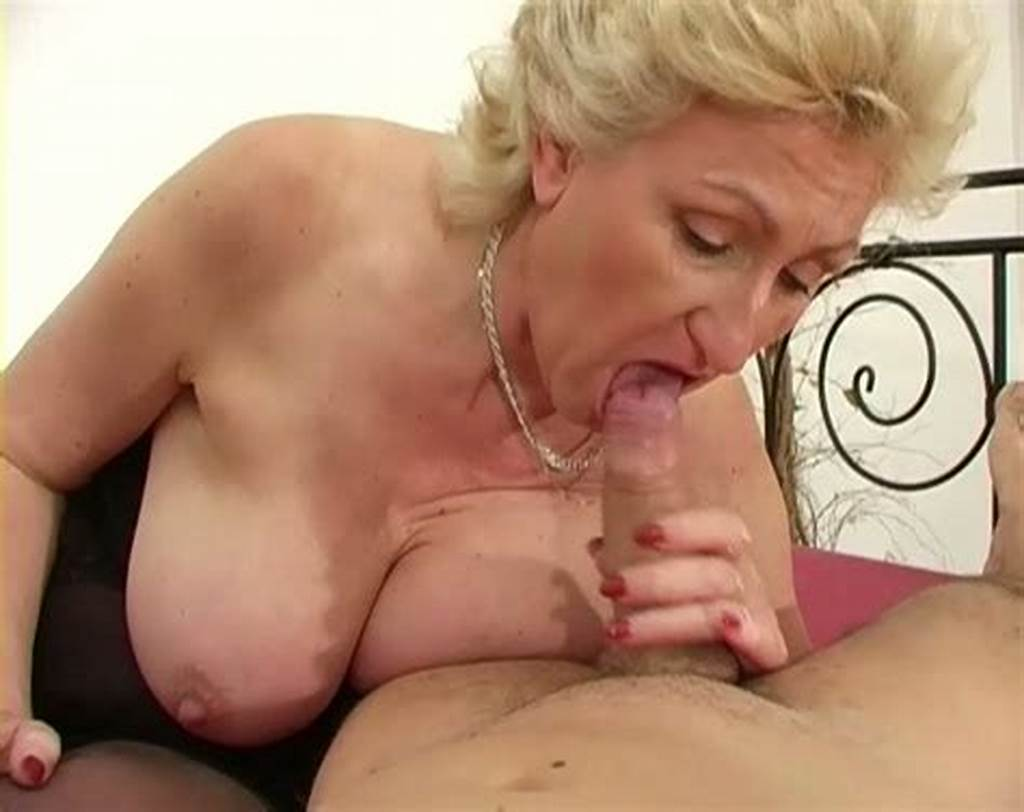 #Nasty #Blond #Haired #Granny #With #Big #Boobs #Gives #Stout #Bj #To