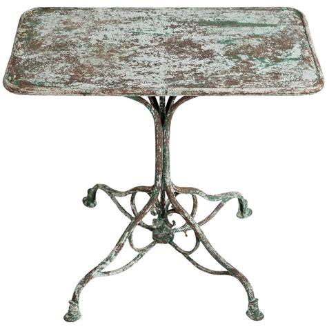 antique wrought iron garden table from arras circa