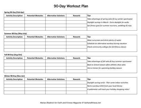 90 Days Template by 90 Day Calendar Template Excel Printable Calendar Templates