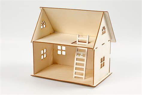 Construire Une Maison En 3d Kit Maison 3d 224 Construire Maquettes En Bois 10 Doigts
