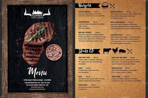 grill barbecue restaurant menu