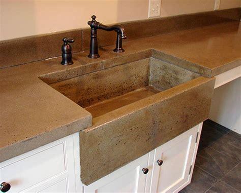 concrete countertop sink molds wet cast apron front sink decorative concrete