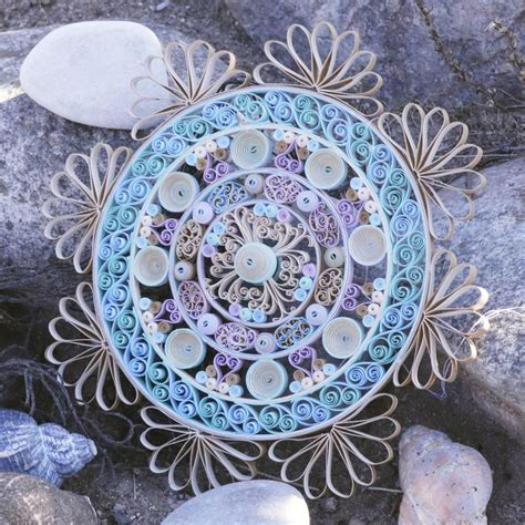 july mandala template   images quilling paper