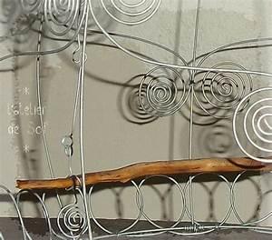 Fil De Fer Recuit : d tail cage fil de fer sur bois flott photo de bois ~ Dailycaller-alerts.com Idées de Décoration
