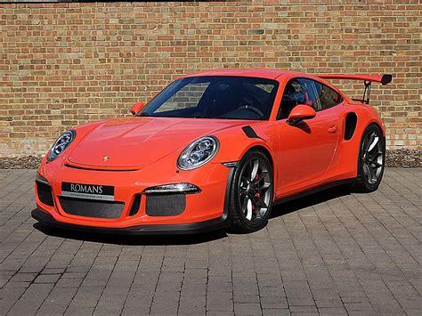 Sleek Silver 2016 Porsche 911 Gt3 Rs For Sale