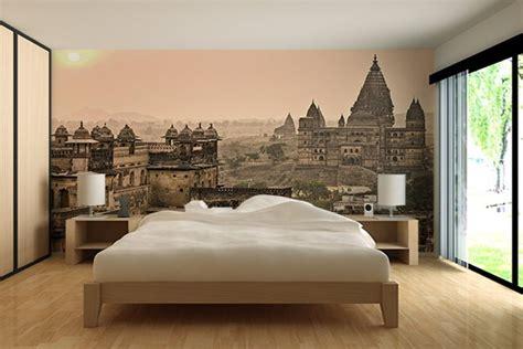 chambre a coucher moderne papier peint design moderne et original izoa
