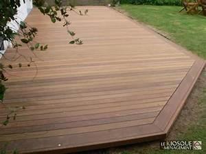 Terrasse Bois Exotique : terrasse bois exotique avec ceinture de finition le ~ Melissatoandfro.com Idées de Décoration