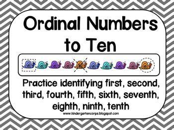 ordinal numbers activities images ordinal