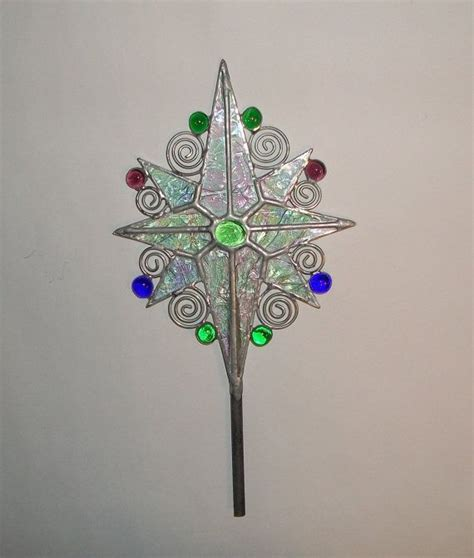 Pretty Tree Toppers by Pretty Tree Topper Stained Glass By