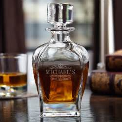 anniversary gifts personalized kensington personalized draper whiskey decanter
